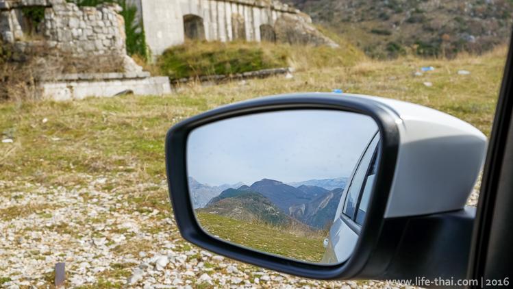 Арендованное авто, отзыв, Черногория