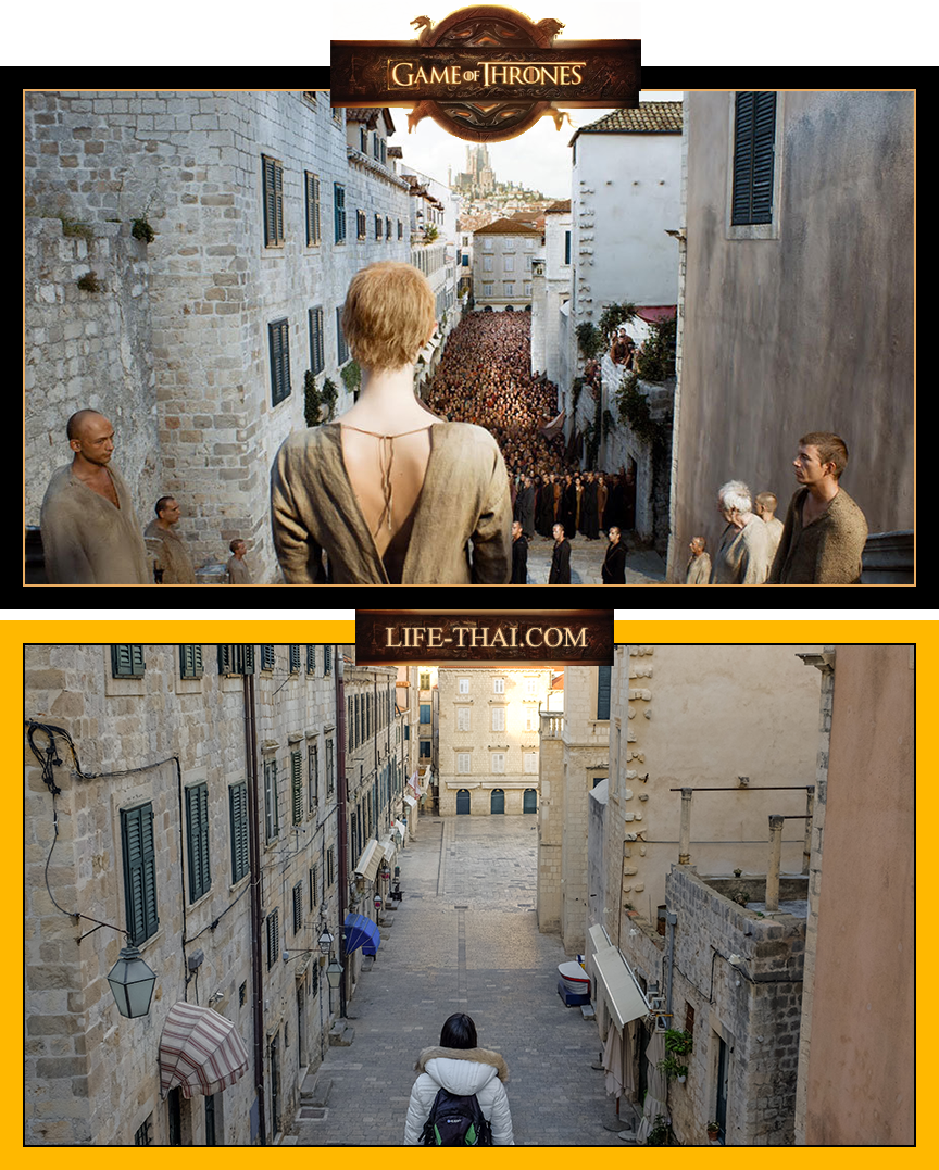 Игра Престолов в Дубровнике, где снимали, фото