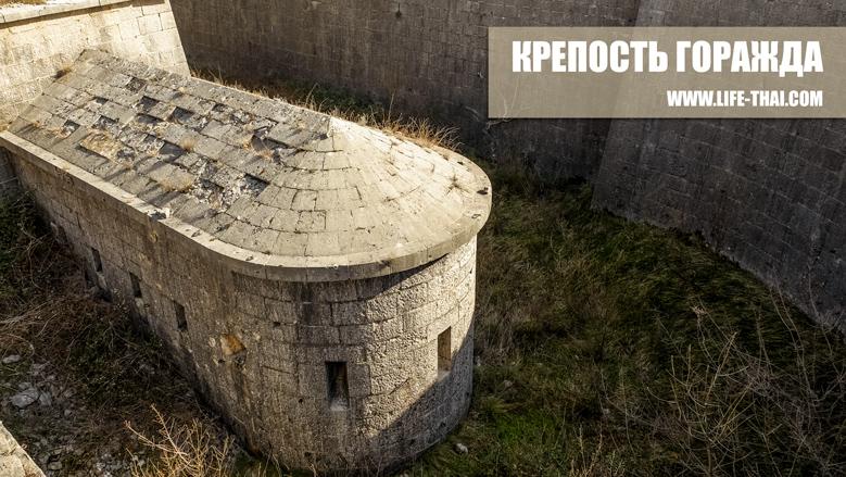 Крепость Горажда - маршрут путешествия по Черногории на машине