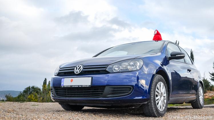 VW Golf VI- аренда в Черногории, наш опыт