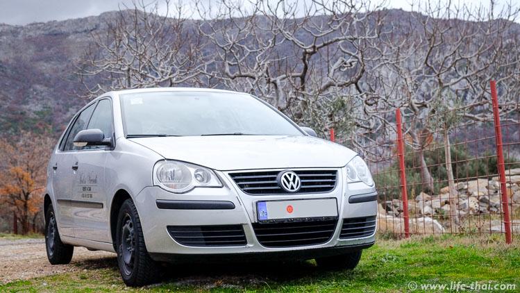 VW Polo - аренда в Черногории, наш опыт