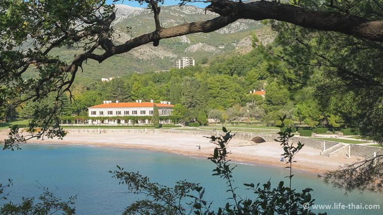Пляж Милочер, Черногория, фото