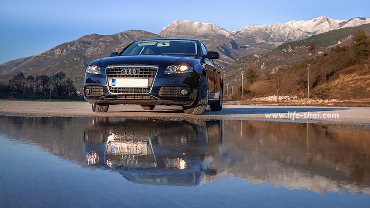 Audi A4 2012- аренда в Черногории, наш опыт