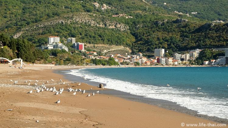 Пляж Бечичи, фото, описание