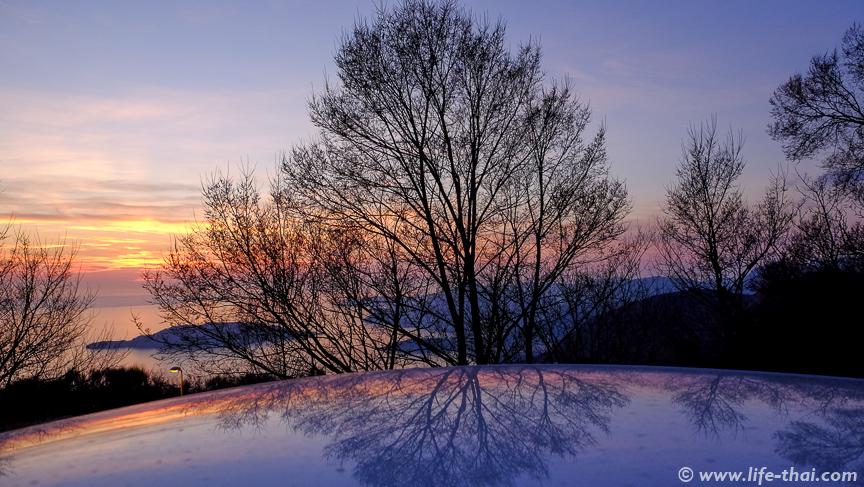 Закат первого февраля, Черногория