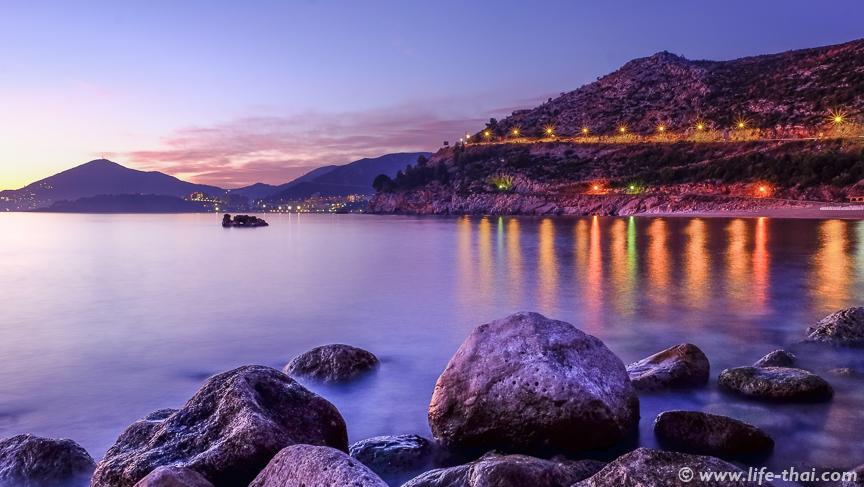 Закат в Каменево, Черногория