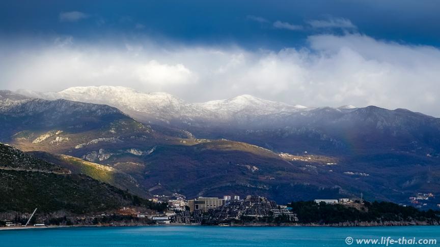 Февраль в Черногории, фото