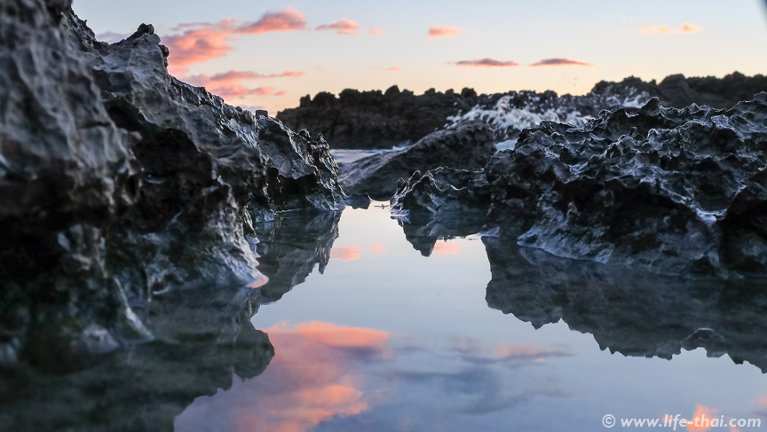 Закат, пляж Плоче