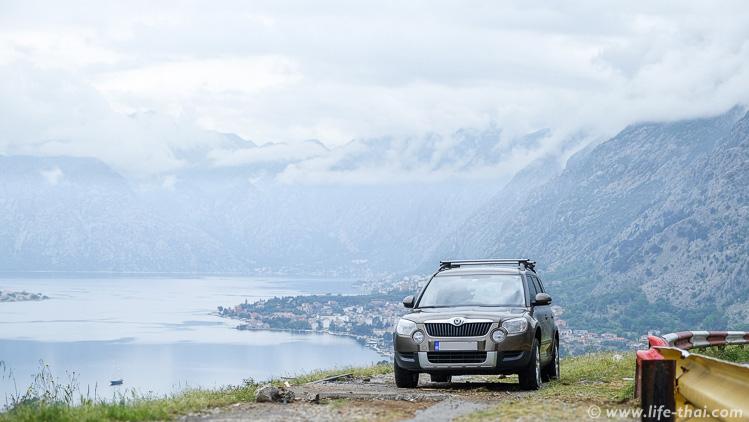 Skoda Yeti, прокат машин в Черногории