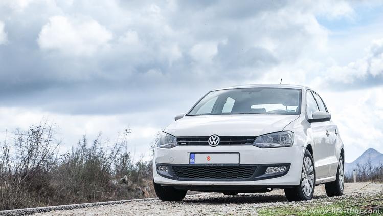 VW Polo 2013- аренда в Черногории, наш опыт