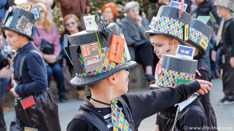 Весенний карнавал в Которе, Черногория