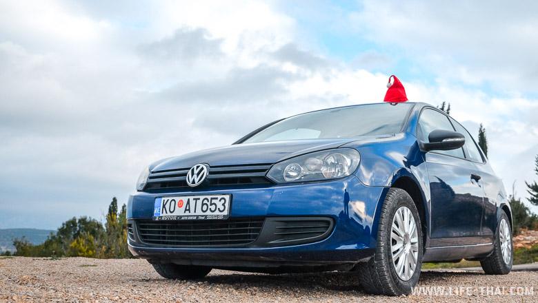 Аренда VW Golf VI в Черногории, наш опыт