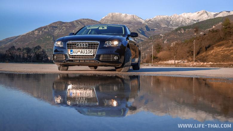 Audi A4 аренда в Черногории, наш опыт