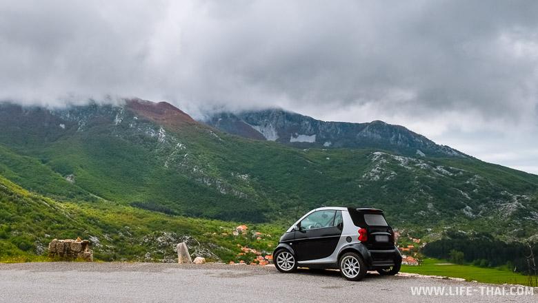 Наш отзыв об аренде машины Smart ForTwo в Черногории