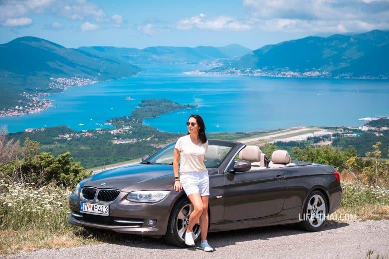 Аренда кабриолета в Черногории - мой опыт