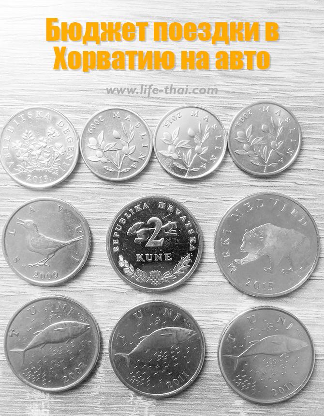 Бюджет поездки в Хорватию