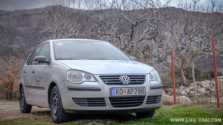 Прокат авто в Будве - цены, условия, залог, депозит, страховка