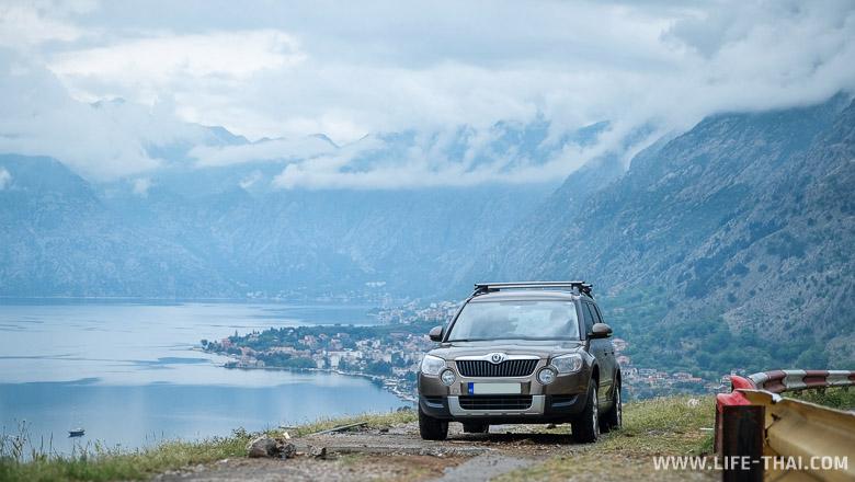 Арендовать внедорожник в Черногории