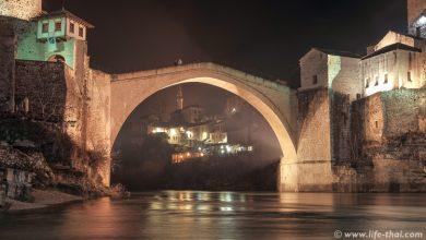 Старый мост в Мостаре, Босния и Герцеговина