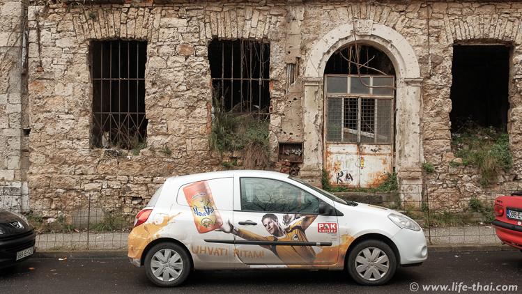 Следы войны в Мостаре, авто путешествие по Боснии и Герцеговине