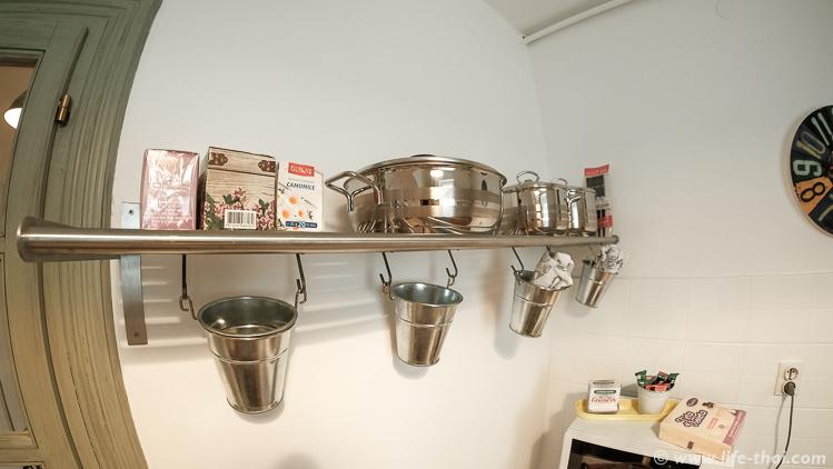 Кухня маленькая, но удаленькая, обзор квартиры в Сараево, Босния