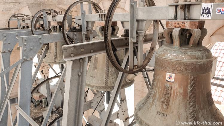 Виды с колокольни св. Домна, Сплит, Хорватия