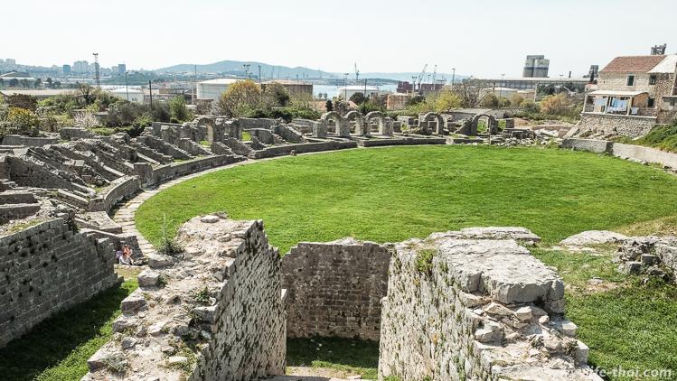 Руины древнего города Салона, Сплит, Хорватия