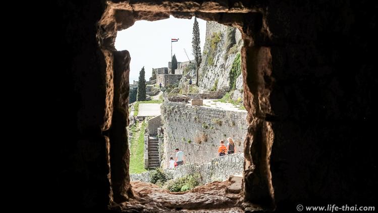 Крепость Клис, Сплит, Хорватия