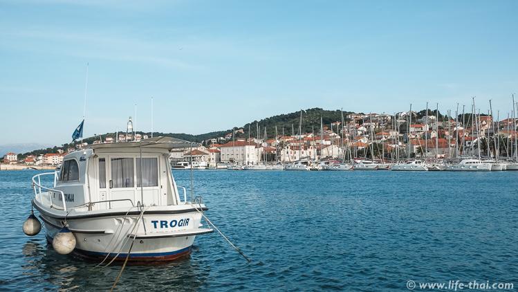 Лодка, Трогир, Хорватия
