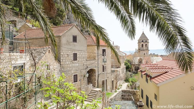 Старый город, Омиш, Хорватия