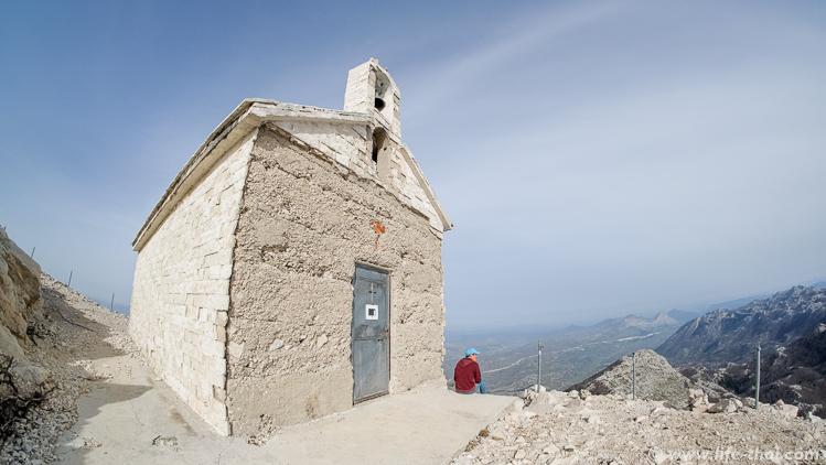 Церковь на горе Свети Юре, Биоково, Хорватия
