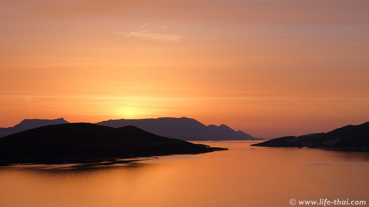 Закат в Неуме, Босния и Герцеговина