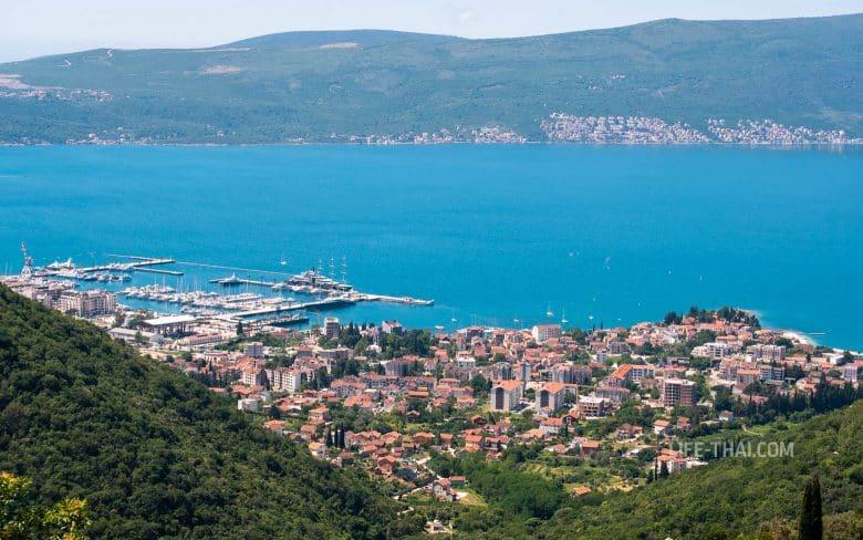 Отдых в Тивате у моря, Черногория