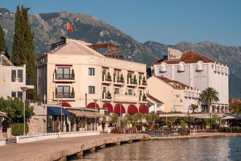 Лучшие отели в Тивате у моря