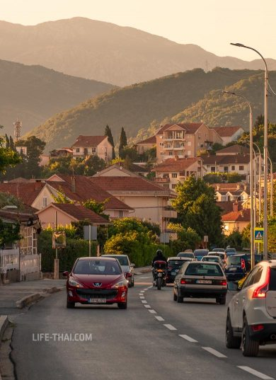 Курорт Тиват в Черногории на фото