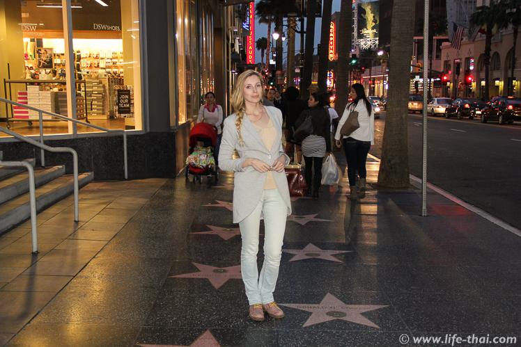 Аллея звёзд, Лос-Анжелес, США
