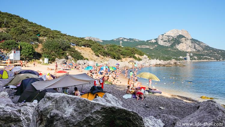 Отдых в Крыму с палаткой