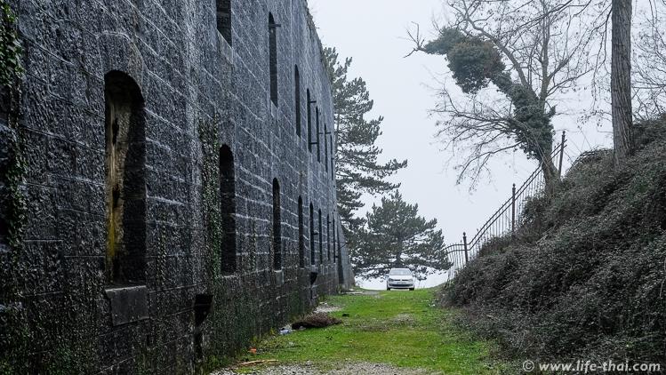 Форт Врмац, заброшенная австрийская крепость