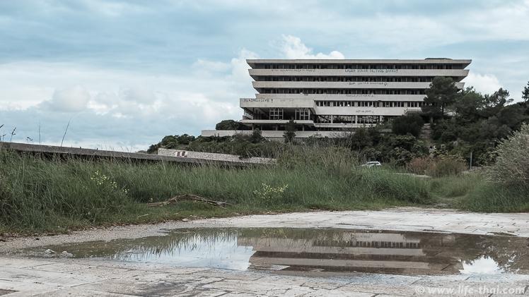 """Отель """"Пелегрин"""" в заброшенном курорте Купари, Хорватия"""