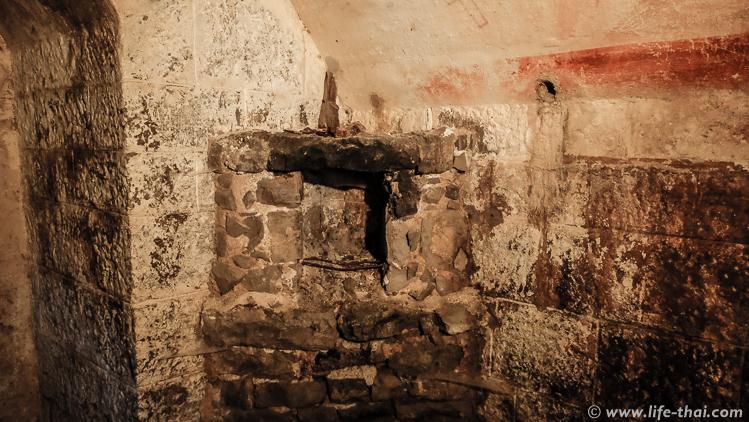 Печка в форте Врмац