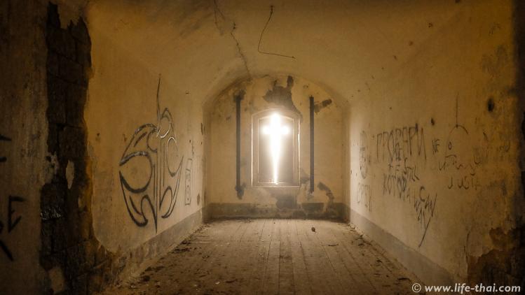 Крепость Врмац, первывй этаж, Черногория