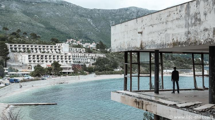"""Отель """"Гориница"""" в заброшенном курорте Купари, Хорватия"""