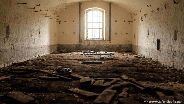 Форт Врмац внутри