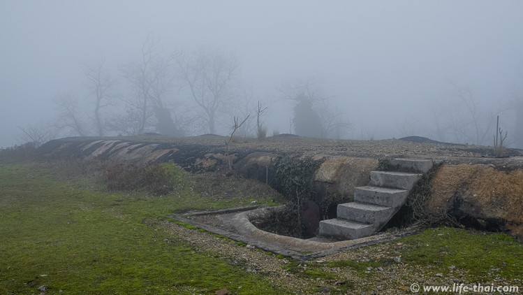 Ход на крышу, крепость Врмац, Черногория