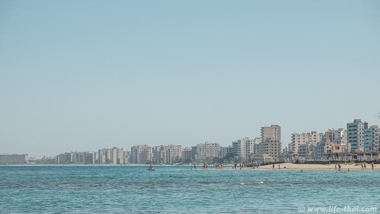 Северный Кипр, заброшенный район Вароша