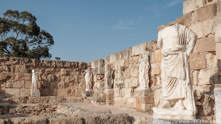 Амфитеатр древнего города Саламин, Северный Кипр