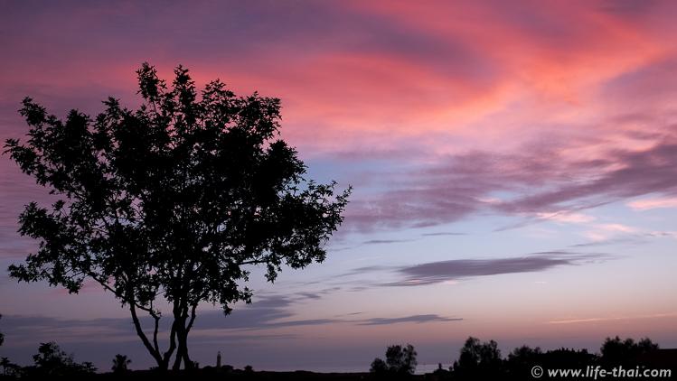 Закат в Пафосе, Кипр