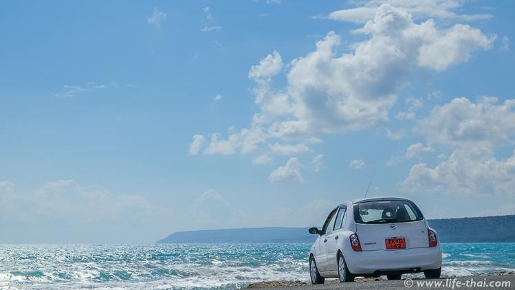 Арендованная машина на Кипре