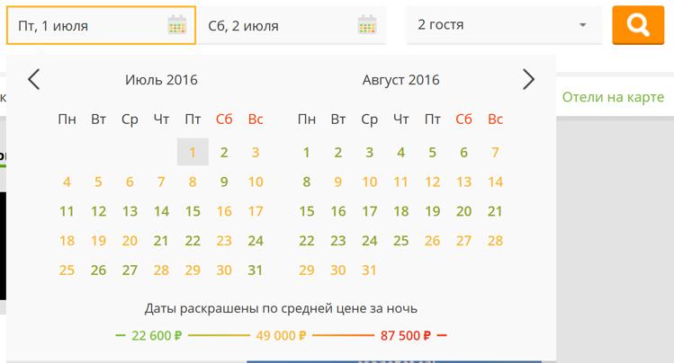 Как найти дешевый отель в Крыму на Хотеллук