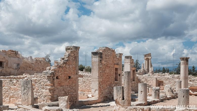 Храм Апполона на Кипре недалеко от Пафоса